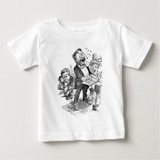 Theodore Roosevelt 1912 Political Cartoon Baby T-Shirt