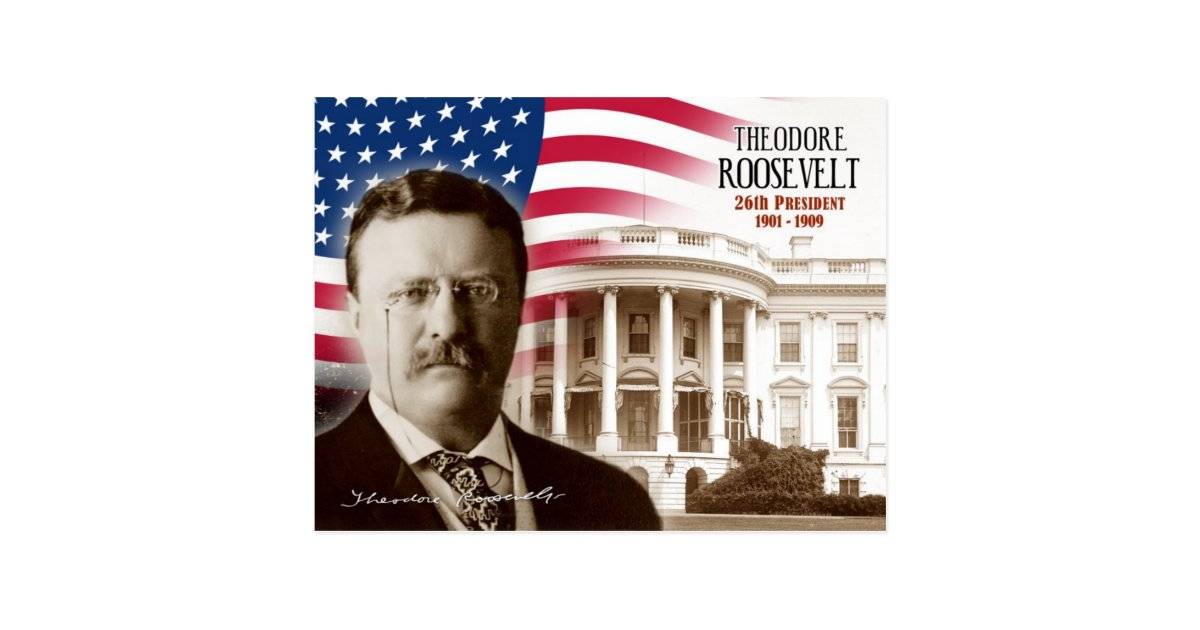a biography of theodore roosevelt the 26th president of the united states