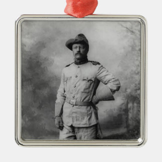 Theodore Roosevelt Christmas Ornament