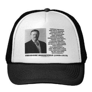 Theodore Roosevelt Fanatics Lunatic Fringe Quote Trucker Hat