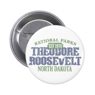 Theodore Roosevelt National Park 6 Cm Round Badge