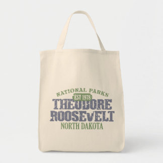 Theodore Roosevelt National Park Grocery Tote Bag