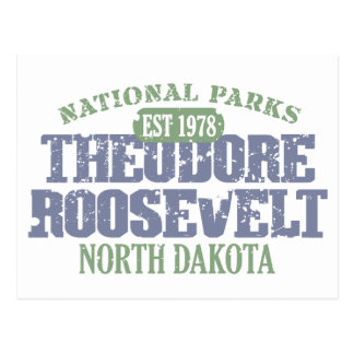 Theodore Roosevelt National Park Postcard