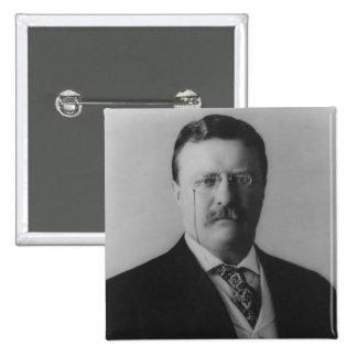 Theodore Roosevelt Portrait Pinback Buttons