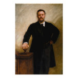 THEODORE ROOSEVELT Portrait By John Singer Sargent