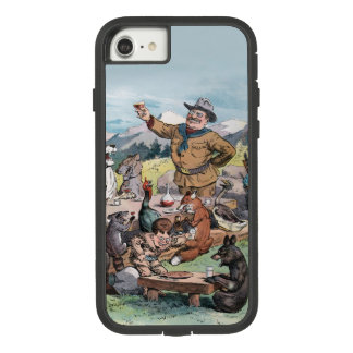 Theodore Roosevelt raises a toast to wildlife Case-Mate Tough Extreme iPhone 7 Case