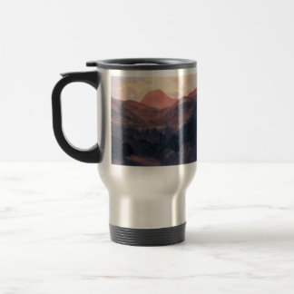 Theodore Rousseau- View of Puy de Dôme and Royat Stainless Steel Travel Mug