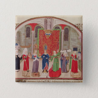 Theological and Cardinal Virtues 15 Cm Square Badge