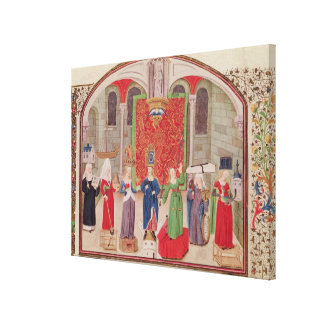 Theological and Cardinal Virtues Canvas Print