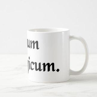 Theological hatred coffee mug