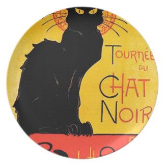 Théophile-Alexandre Steinlen - Tournée du Chat Noi Dinner Plate