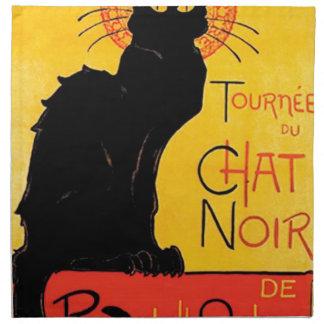 Théophile-Alexandre Steinlen - Tournée du Chat Noi Printed Napkins