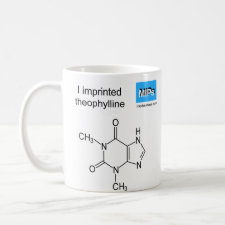 Mug featuring the template Theophylline