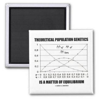 Theoretical Population Genetics Matter Equilibrium Square Magnet