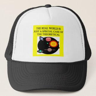 theoretical quantum physics trucker hat