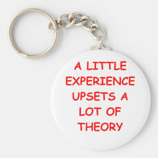 theory basic round button key ring