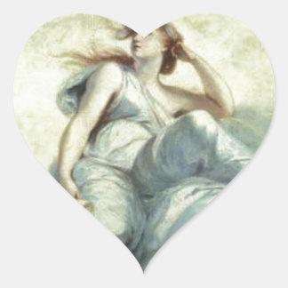 Theory by Joshua Reynolds Heart Sticker