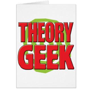 Theory Geek Greeting Card