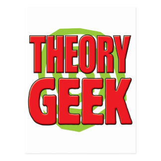 Theory Geek Postcard