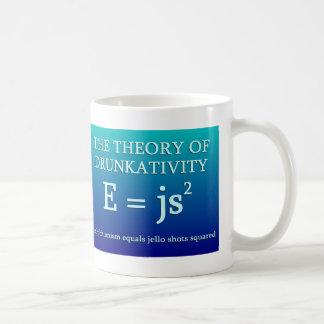 Theory of Drunkativity Coffee Mug