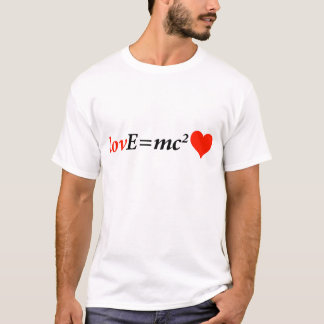 Theory of Love Equation T-Shirt