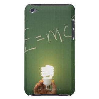 Theory of relativity on blackboard iPod touch Case-Mate case
