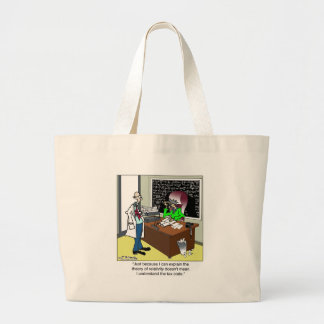 Theory of Relativity The Tax Code Tote Bag