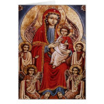 Theotokos with Christ Child Greeting Cards