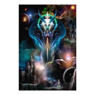 Thera Queen Of The Galaxy Photo Enlargement Photo Print