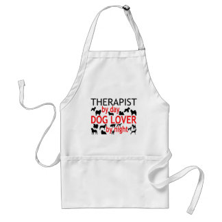 Therapist Dog Lover Standard Apron