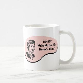 Therapist Voice Basic White Mug