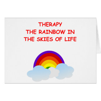 therapy card