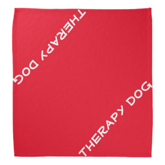 Therapy Dog Bandanna
