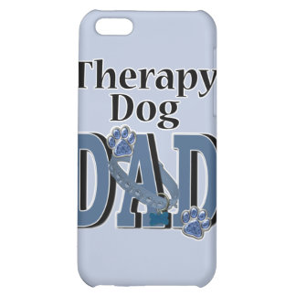 Therapy Dog DAD iPhone 5C Covers