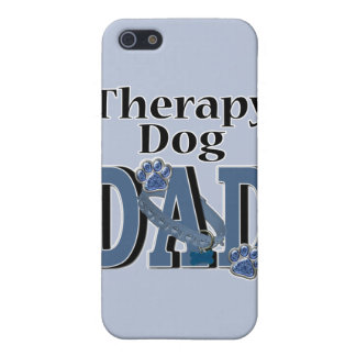 Therapy Dog DAD iPhone 5 Covers