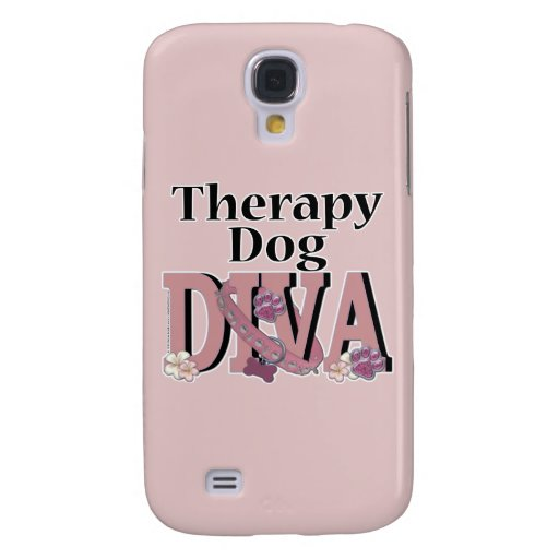 Therapy Dog DIVA Galaxy S4 Case