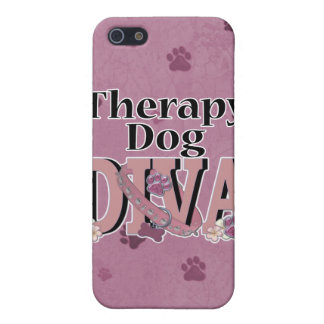 Therapy Dog DIVA iPhone 5 Cover