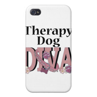Therapy Dog DIVA Cover For iPhone 4
