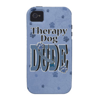 Therapy Dog DUDE Vibe iPhone 4 Cases