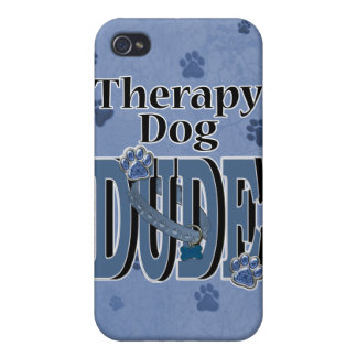 Therapy Dog DUDE Cover For iPhone 4
