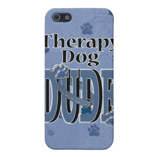 Therapy Dog DUDE iPhone 5 Case
