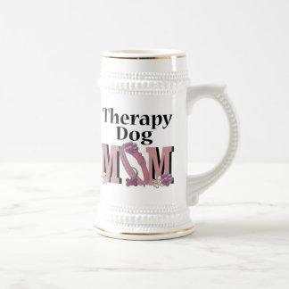 Therapy Dog MOM Coffee Mugs