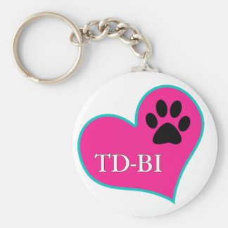 [Therapy Dogs Bloomington Illinois Basic Round Button Key Ring