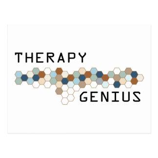 Therapy Genius Postcard