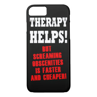 THERAPY HELPS iPhone 7 CASE
