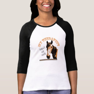 Therapy Horse Women's two-toned Shirt
