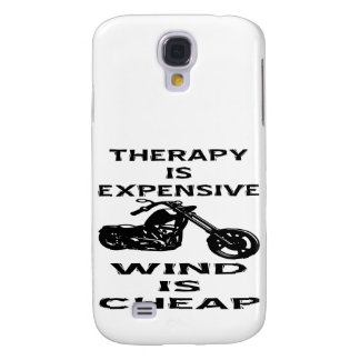 Therapy Is Expensive Biker Wind Is Cheap Galaxy S4 Case