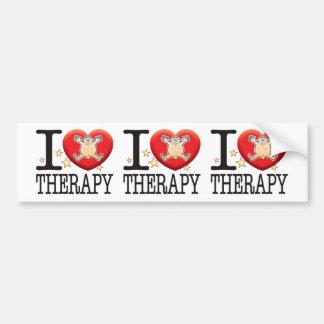 Therapy Love Man Bumper Sticker