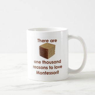 There are 1000 Reasons to Love Montessori Mugs