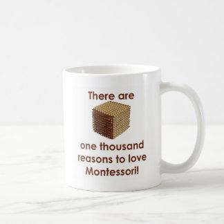 There are 1000 Reasons to Love Montessori Mugs
